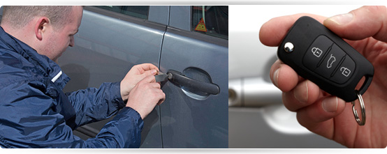 Roadside locksmith service