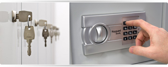 Locker keys, keyless entry systems